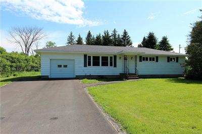 Martinsburg NY Single Family Home For Sale: $119,900