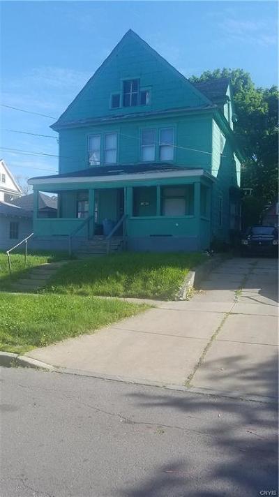 Syracuse Single Family Home A-Active: 152 Lilac Street