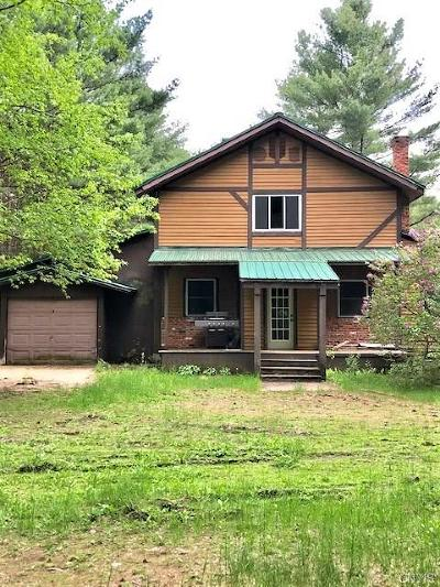 Watson NY Single Family Home For Sale: $60,000