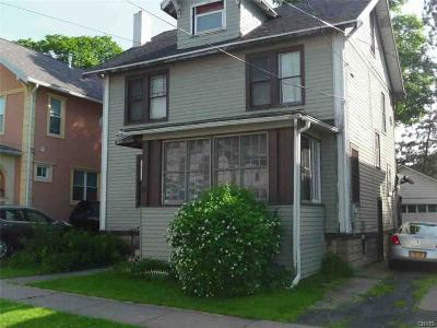 Utica Single Family Home For Sale: 17 Rose Place
