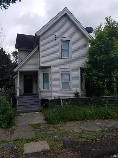 Syracuse Single Family Home A-Active: 331 Fitch Street