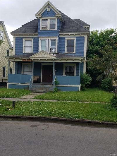 Syracuse Single Family Home A-Active: 279 West Borden Avenue