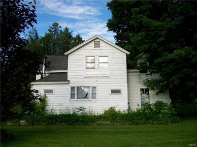 Stockbridge Single Family Home For Sale: 5643 West Road