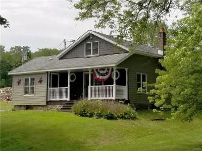 Hannibal Single Family Home For Sale: 783 County Route 21 Road