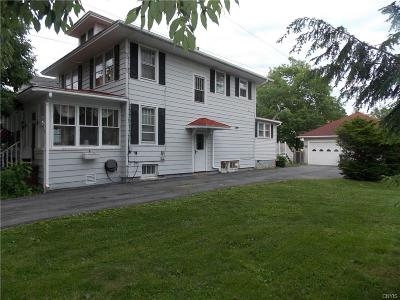 Watertown-City NY Single Family Home For Sale: $174,900