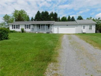 Oneida County Single Family Home For Sale: 9543 Mullen Hill Road