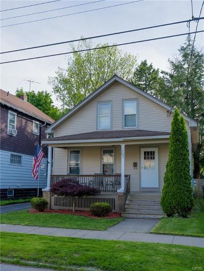 Utica Single Family Home For Sale: 103 Barton Avenue