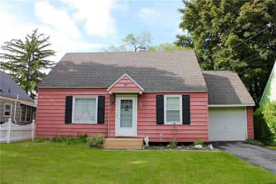 Syracuse Single Family Home Active Under Contract: 106 Brooklea Drive