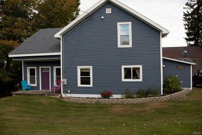 Madison Single Family Home For Sale: 7459 State Route 20