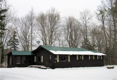 Forestport Single Family Home For Sale: 8841 Moose River Rd