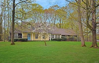 Single Family Home For Sale: 4281 Indianfield Road
