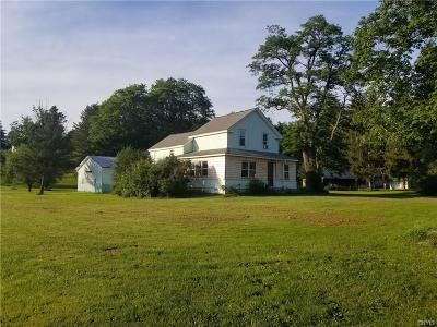 Sherburne Single Family Home For Sale: 219 County Road 24