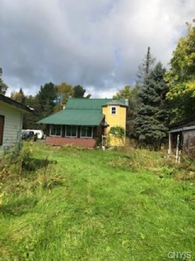 St Lawrence County Single Family Home For Sale: 1660 County Route 53 Highway