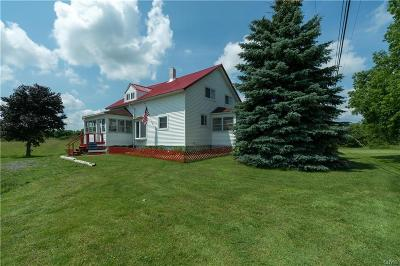 Theresa Single Family Home For Sale: 40749 Nys Route 37
