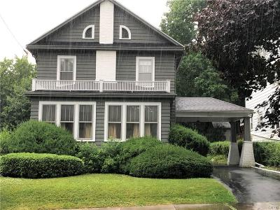 Syracuse Single Family Home For Sale: 504 Broad Street