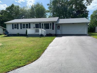 Utica Single Family Home For Sale: 463 Tryon Road