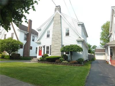 Syracuse Single Family Home Active Under Contract: 469 Brattle Road