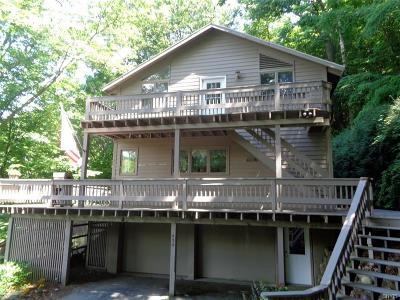 Single Family Home For Sale: 434 Spafford Landing Road