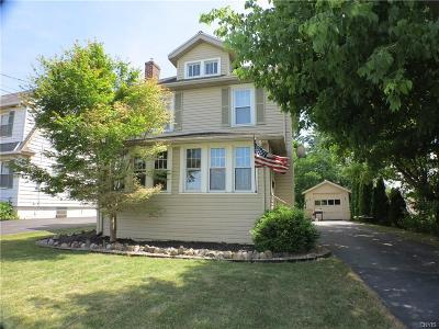 Syracuse Single Family Home For Sale: 1038 Sunnycrest Road