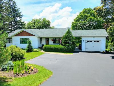 Owasco Single Family Home For Sale: 6197 E Lake Road