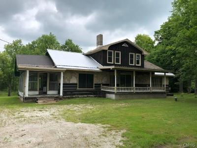 St Lawrence County Single Family Home For Sale: 5168 State Highway 58