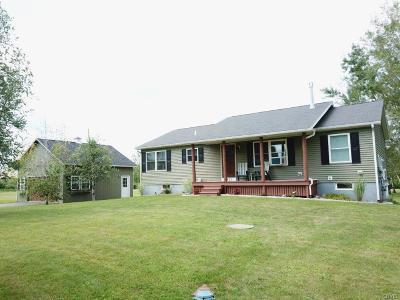 Rome Single Family Home For Sale: 5831 Bartlett Road