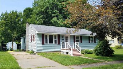 Oswego-City Single Family Home Active Under Contract: 214 Liberty Street