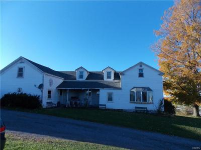 Lowville Single Family Home For Sale: 8635 State Route 26
