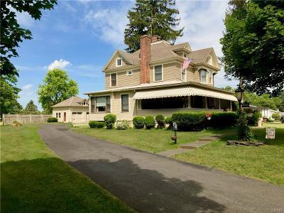 Rome Single Family Home For Sale: 8063 Elmer Hill Road