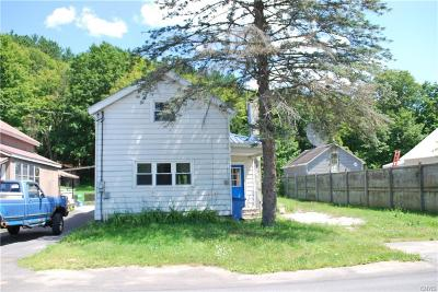 Forestport NY Single Family Home For Sale: $11,900