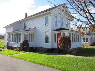 Madison Single Family Home For Sale: 7388 State Route 20 Highway