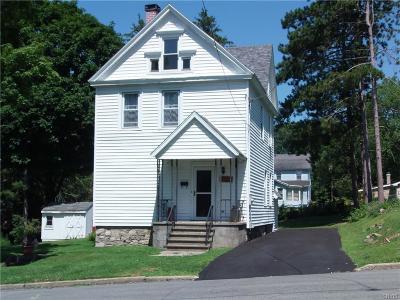New York Mills Single Family Home For Sale: 13 Chestnut Street