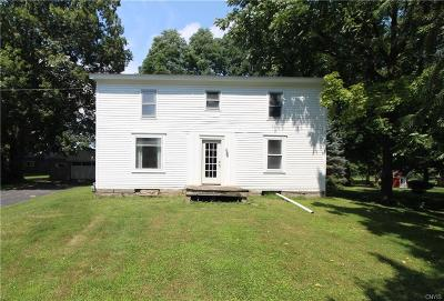 Cayuga County Single Family Home For Sale: 2333 Turnpike Road