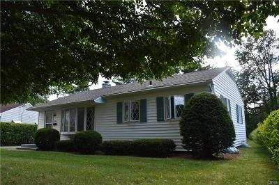 Utica Single Family Home Active Under Contract: 708 Burth Place