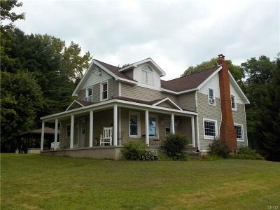 Cato NY Single Family Home For Sale: $169,900