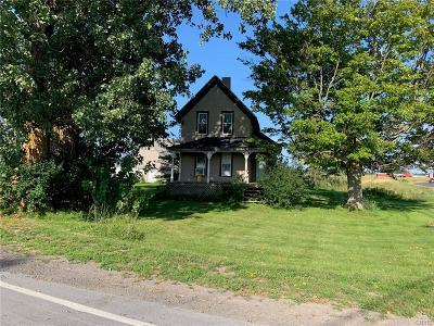 Alexandria NY Single Family Home For Sale: $68,900
