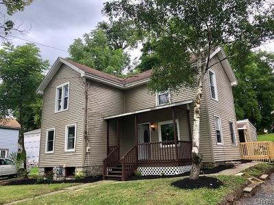 Aurelius NY Single Family Home For Sale: $159,000