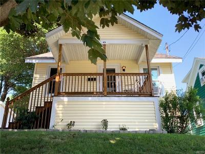 Oswego-City NY Single Family Home For Sale: $64,999