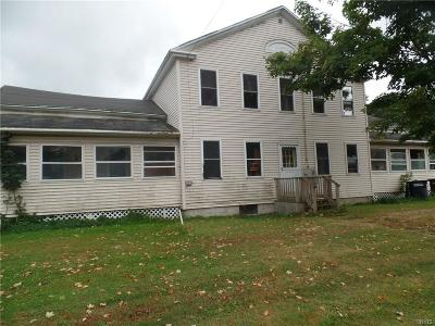 St Lawrence County Multi Family Home For Sale: 23 & 25 W Main Street