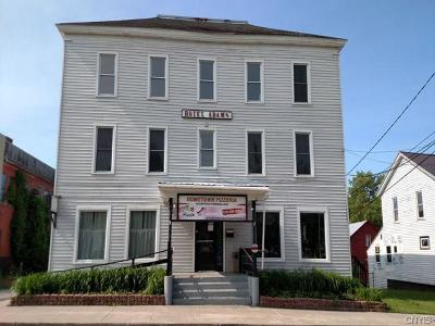 Jefferson County, Lewis County, St Lawrence County Commercial For Auction: 4 W Church Street