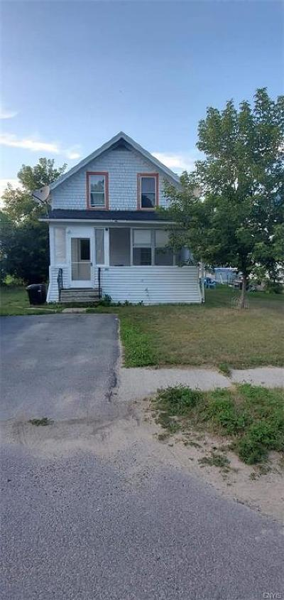 St Lawrence County Single Family Home For Sale: 581 Sissonville Road