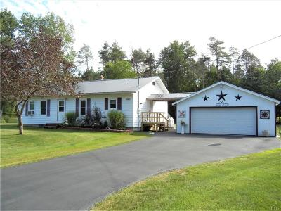 Lowville Single Family Home Active Under Contract: 7501 Ossont Road