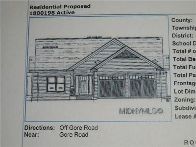 Rome Single Family Home For Sale: Lot 1 Forest Ridge Drive