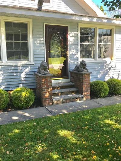 Rome Single Family Home For Sale: 5967 Old Oneida Road