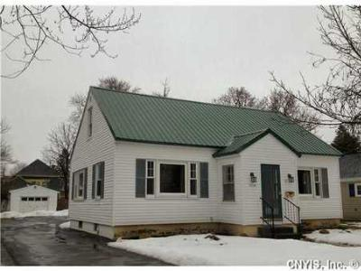 Watertown-City NY Single Family Home Sold: $1,200