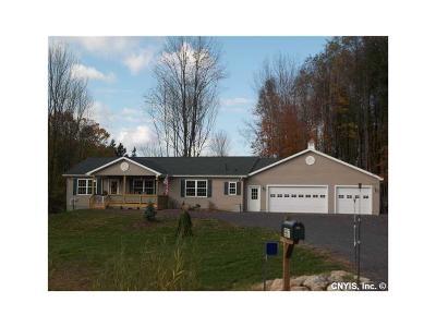 Madison Single Family Home A-Active: 5670 East Lake Road