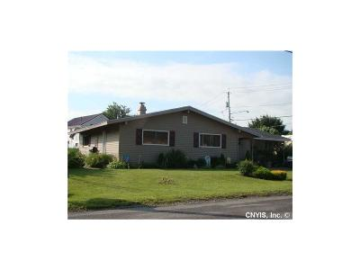 Verona NY Single Family Home S-Closed/Rented: $114,500