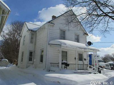 Geneva NY Multi Family 2-4 For Sale: $84,900