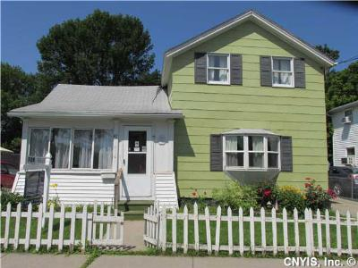 Seneca Falls NY Single Family Home For Sale: $77,000