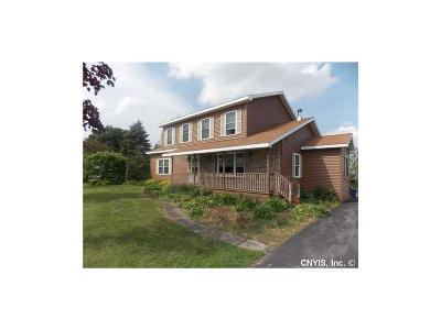 Single Family Home For Sale: 9756 State Route 12